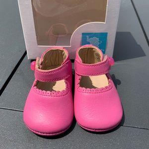 New Elephantito Hot Pink Mary Jane Shoe NB 1 2 3 4